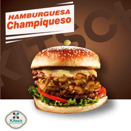 Hamburguesa Champiqueso