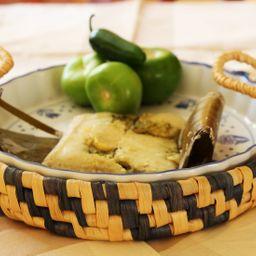 Tamal Costeño Salsa Verde