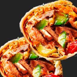 Mega Burrito de Milanesa de Pollo