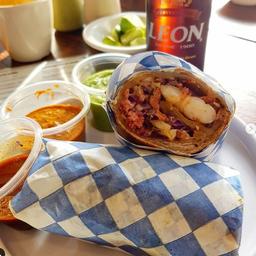 Burrito de Camarón y Marlín
