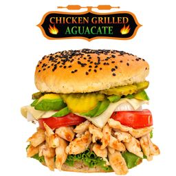 Hamburguesa Chicken Grilled Aguacate