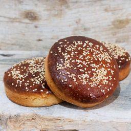 Pan de Hamburguesa Tipo Brioche Keto
