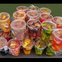 Gelatina de Agua con Fruta
