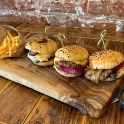 Power Trio Burgers