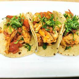 Tacos de Pollo X3