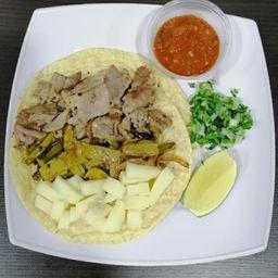 Taco De Rib Eye