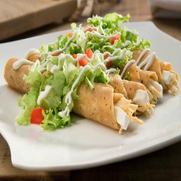 Tacos Dorados Pollo
