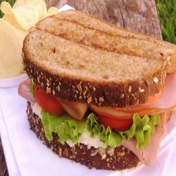 Sándwich Jamón, Queso y Manzana