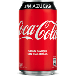 Coca Cola Sin Azúcar 355ml