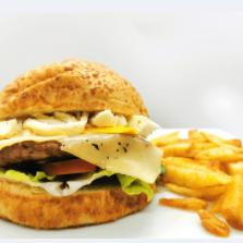 Flanksteak burger