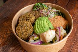 Bowl Vegetariano de Falafel Horneado
