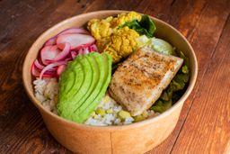 Bowl de Pescado Blanco y Coliflor al Curry