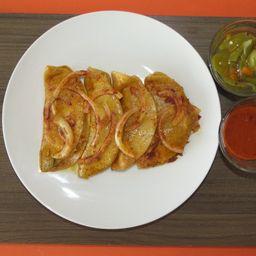 Taco de Canasta de Mole Rojo