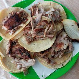 Combo Tacos Al Carbón
