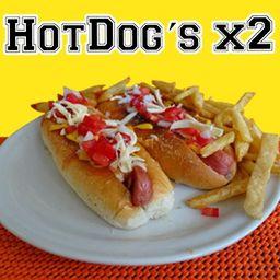 Combo Hot Dog´s x 2