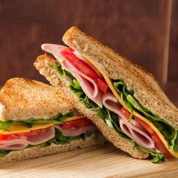 Sandwich clásico jamón & queso