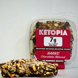 Ketopia Chocolate Almond Barks