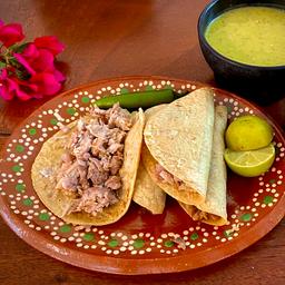 Taco De Lechón Maciza