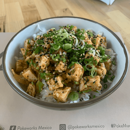 Poke Sweet Ginger Chicken