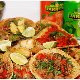 Combo 20 Tacos y 2 Refrescos