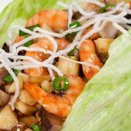 Tacos de Lechuga con Vegetales
