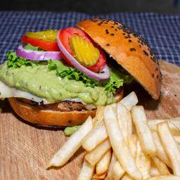 Hamburguesa de Guacamole