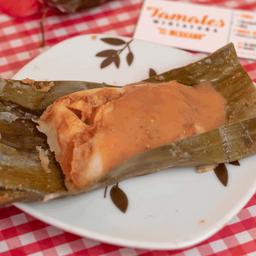 Tamal Oaxaqueño Mini Frijol con Queso