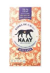 Chocolate Naay sin Azúcar con Avellana