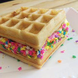 Sandwich de Waffle