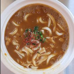 Sopa Udon con Curry