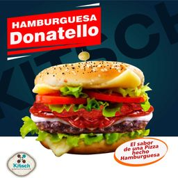 Hamburguesa Donatello