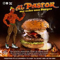 Al ´pastor Me Echo una Burger
