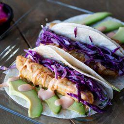 Tacos Baja de Pescado (3 Piezas)