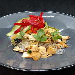 Bowl de tofu frito