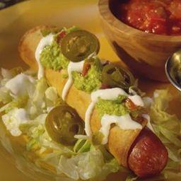 Mexican Flautas Dog
