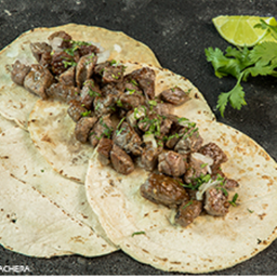 Tacos de Arrachera 180 Gr, 4a5 Tacos