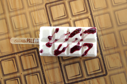 Paleta de Cheesecake-Blueberry