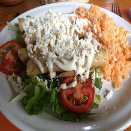 Promo Tacos Dorados con Arroz