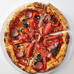 Pizza maiale