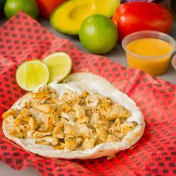 Taco Árabe de Pollo
