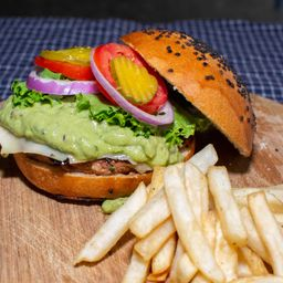Hamburguesa Guacamole