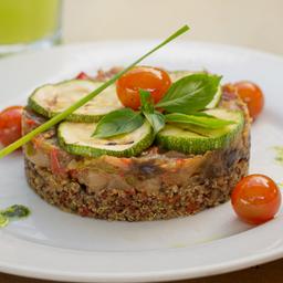 Quinoa con Ratatouille Vegano
