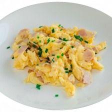 Huevos con Pechuga de Pavo