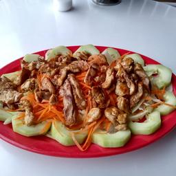 Ensalada Mixta con Carne