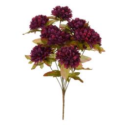 Ramo Fino Cempasúchil X10 Flores 43 cm Morado