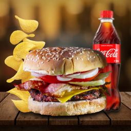 Combo hamburguesa cheese bacon
