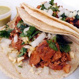 Combo Tacos Al Pastor