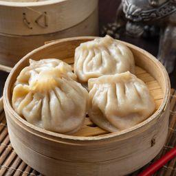Dumpling al Vapor