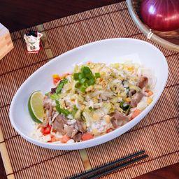 Platillo Carne de Res con Mayonesa Wasab