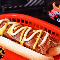 Hotdog Italiano Bacon
